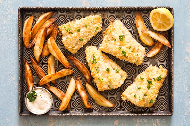 Fish and Chips recipe without beer